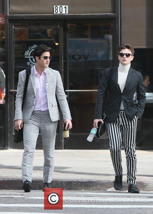 Chris Colfer and Darren Criss 9