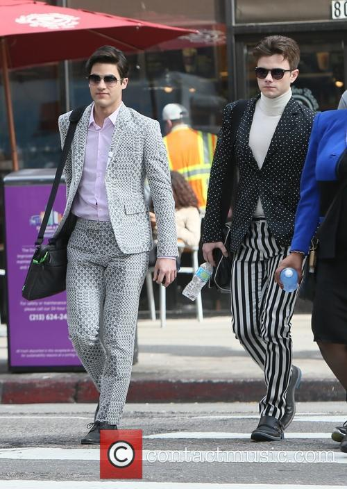 Chris Colfer and Darren Criss 10