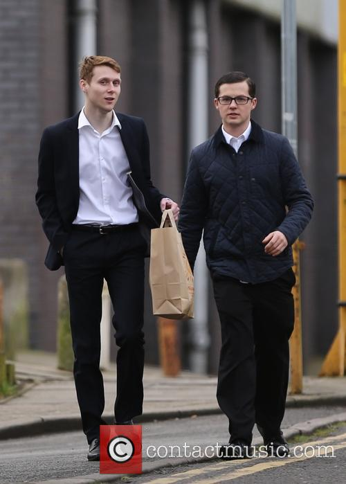Eastenders, Jamie Borthwick and Harry Reid 2