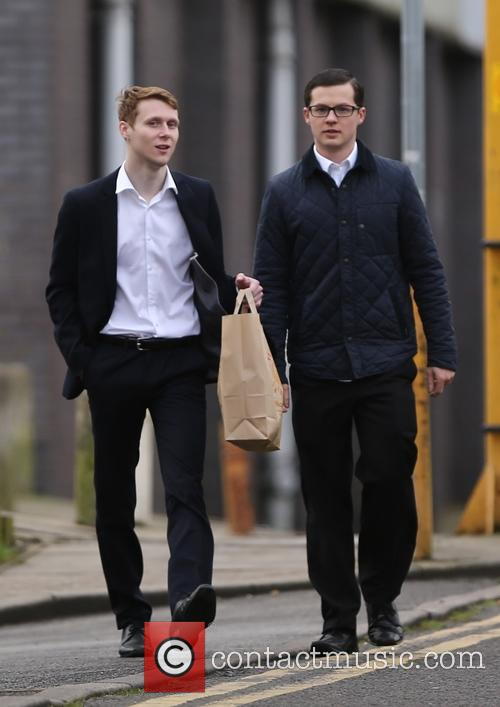 Eastenders, Jamie Borthwick and Harry Reid 3