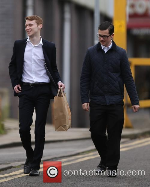 Eastenders, Jamie Borthwick and Harry Reid 4