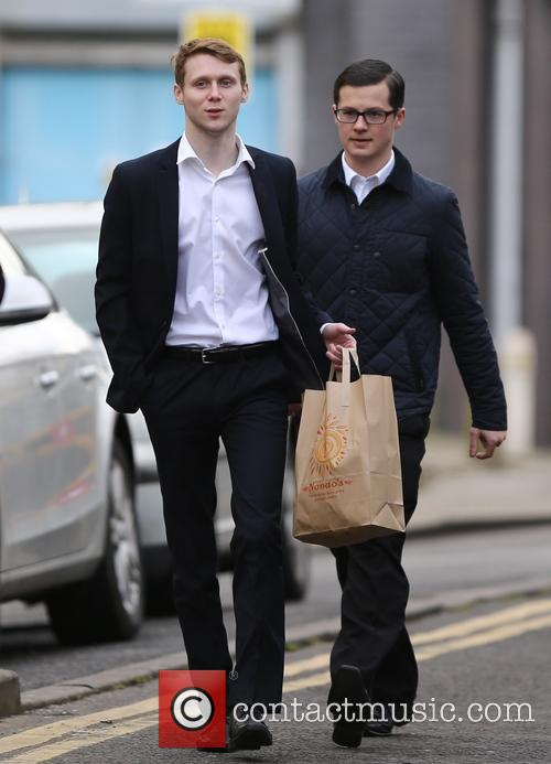 Eastenders, Jamie Borthwick and Harry Reid 11