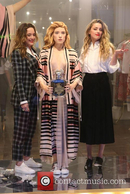 Amber Heard and Alice Temperley 4