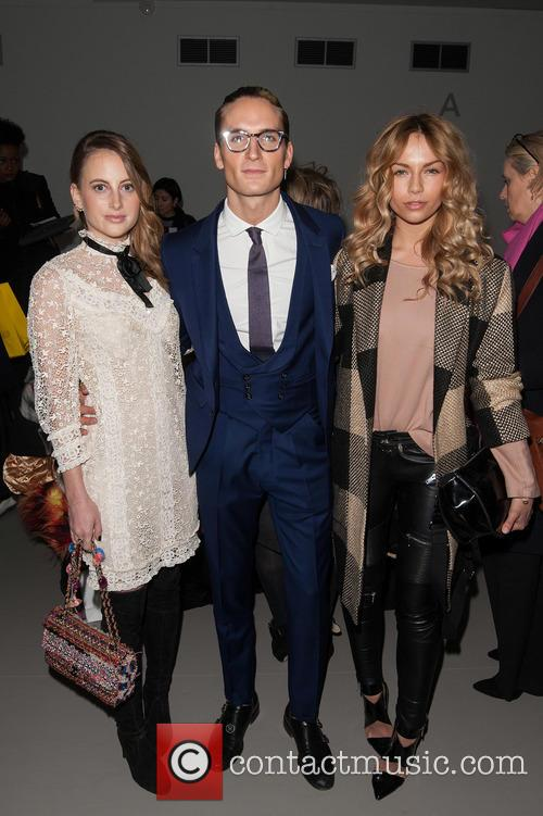 Rosie Fortescue, Ollie Proudlock and Guest 2