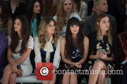 Michelle Keegan, Zara Martin, Amber Le Bon and Jade Williams 3