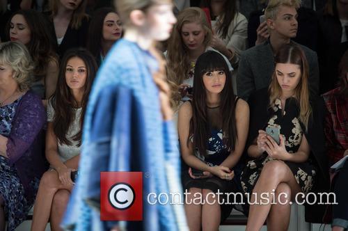 Michelle Keegan, Zara Martin and Amber Le Bon 2