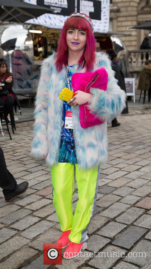 Atmosphere London Fashion Week Street Style 9 Pictures