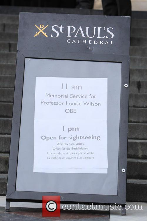 Memorial and Prof. Louise Wilson 1