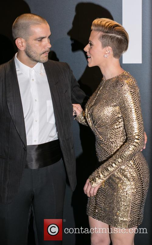 Romain Dauriac and Scarlett Johansson 3