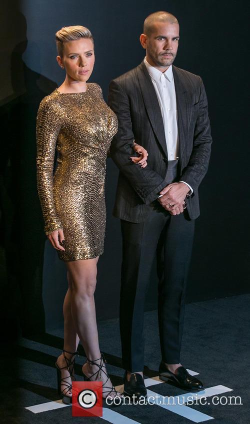 Scarlett Johansson and Romain Dauriac 3
