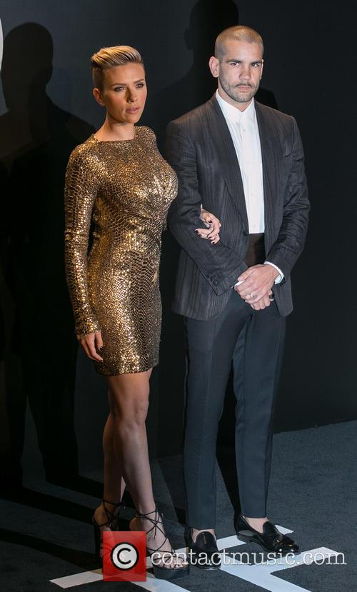 Scarlett Johansson and Romain Dauriac 4