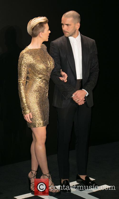 Scarlett Johansson and Romain Dauriac 5