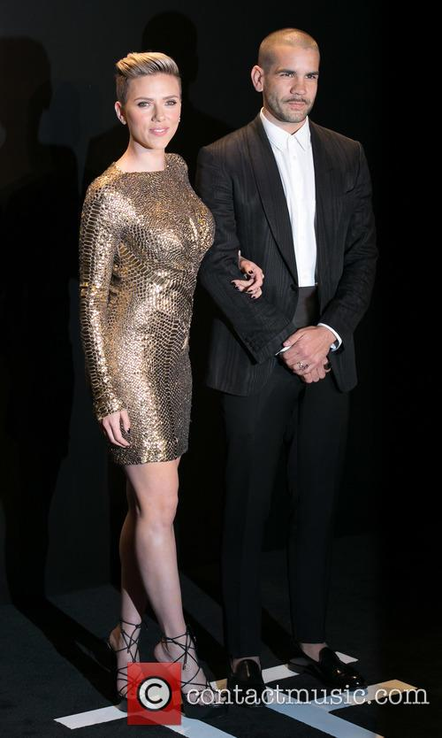 Scarlett Johansson and Romain Dauriac 6