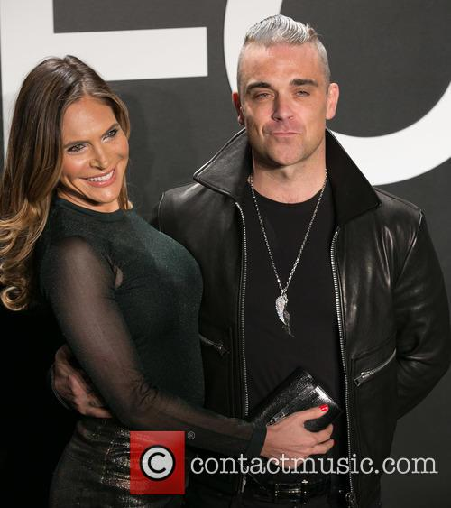 Ayda Field and Robbie Williams 2