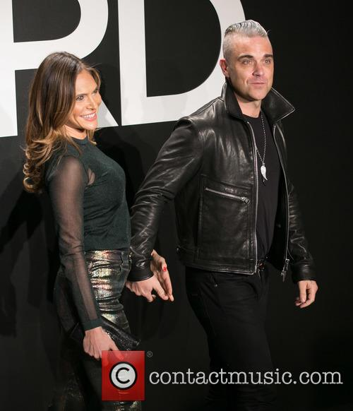 Ayda Field and Robbie Williams 6