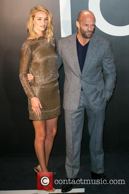 Rosie Huntington-whiteley and Jason Statham 2
