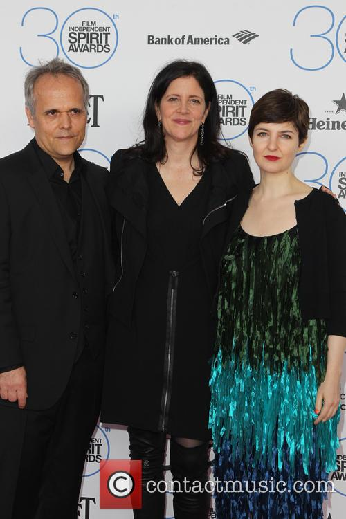 Dirk Wilutzky, Laura Poitras and Mathilde Bonnefoy 1