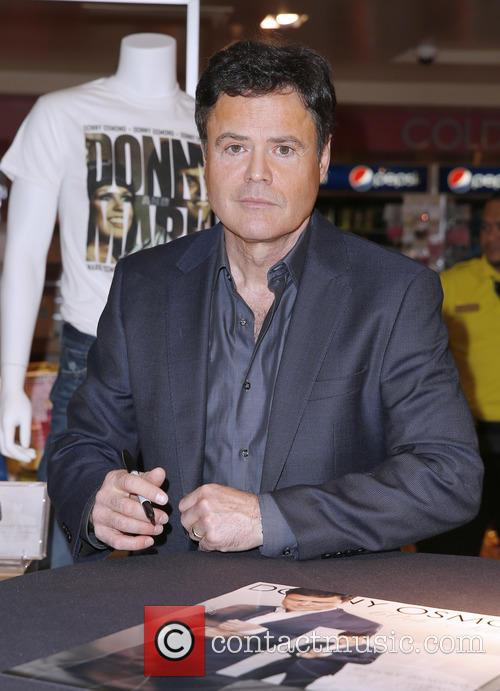 Donny Osmond promotes the release of his 60th...