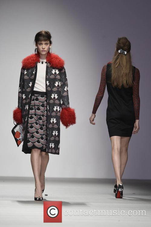 London Fashion Week Autumn/Winter 2015 - Holly Fulton...