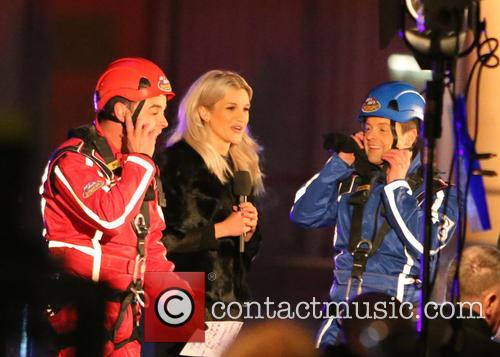 Ant, Dec and Ashley Roberts 4