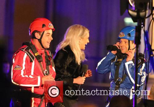 Ant, Dec and Ashley Roberts 5