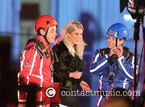 Ant, Dec and Ashley Roberts 1