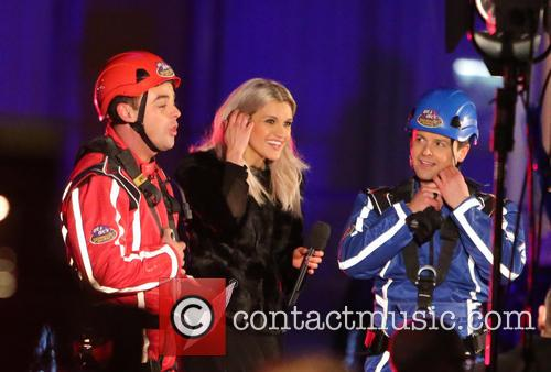 Ant, Dec and Ashley Roberts 6