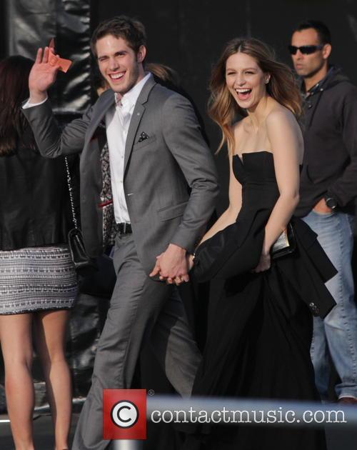 Blake Jenner and Melissa Benoist 2