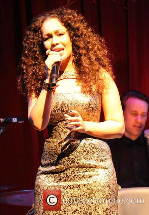 Rebecca Ferguson performs live