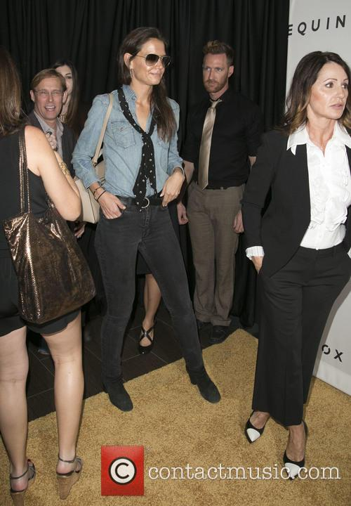 Bart Conner, Katie Holmes and Nadia Comaneci 2