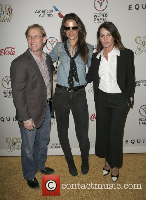 Bart Conner, Katie Holmes and Nadia Comaneci 4