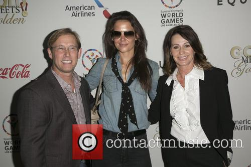 Bart Conner, Katie Holmes and Nadia Comaneci 5