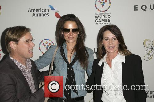 Bart Conner, Katie Holmes and Nadia Comaneci 1