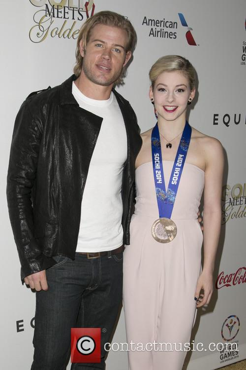 Trevor Donovan and Gracie Gold 8
