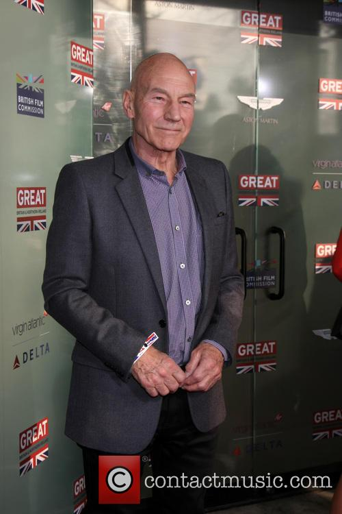 Patrick Stewart at GREAT British Film Reception
