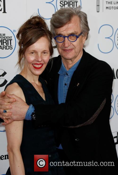 Wim Wenders and Wife Donata Wenders 1