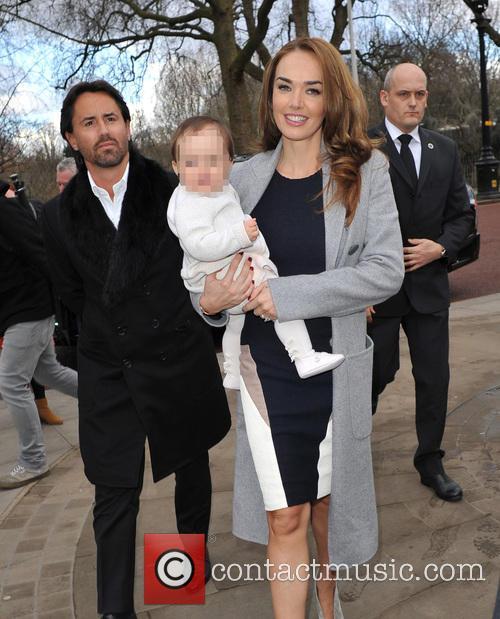 Jay Rutland, Tamara Ecclestone and Sophia 5
