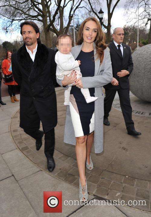 Jay Rutland, Tamara Ecclestone and Sophia 6
