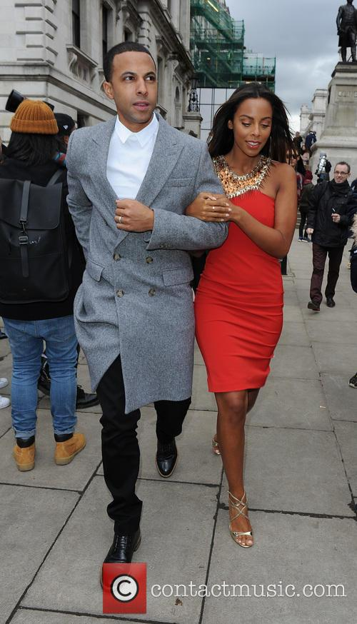 Marvin Humes and Rochelle Humes 5