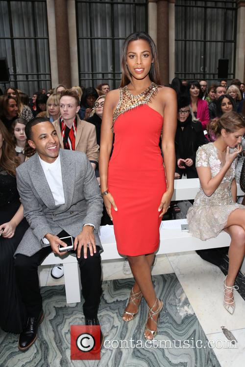 Marvin Humes, Rochelle Wiseman and Rochelle Humes 1