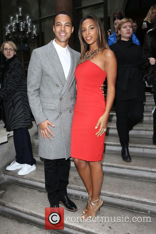 Marvin Humes, Rochelle Wiseman and Rochelle Humes 3