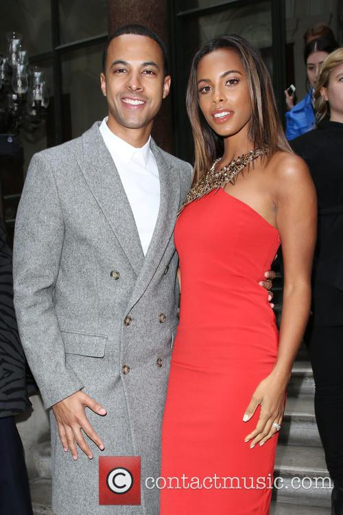 Marvin Humes, Rochelle Wiseman and Rochelle Humes 4