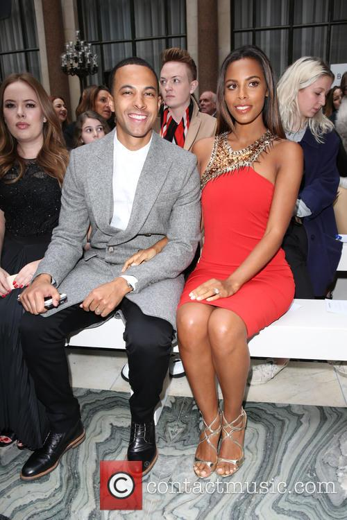 Marvin Humes, Rochelle Wiseman and Rochelle Humes 5