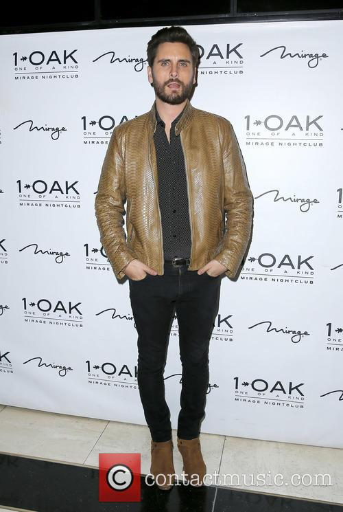Scott Disick at 1 Oak