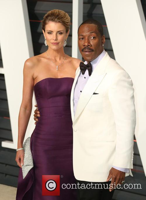 Paige Butcher and Eddie Murphy 2