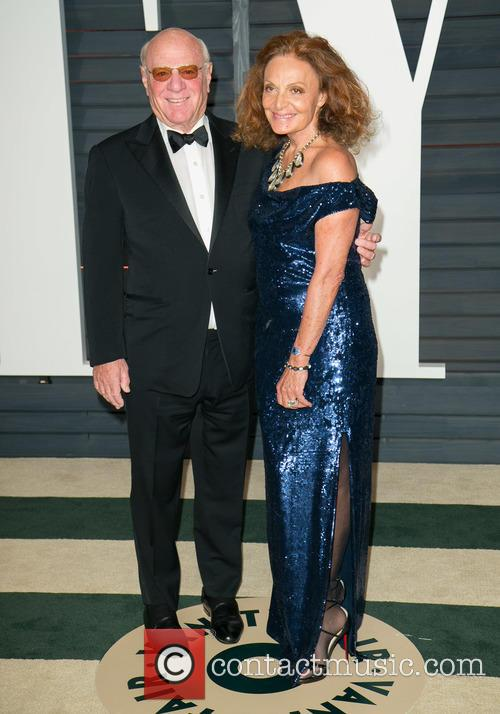 Barry Diller and Diane Von Furstenberg