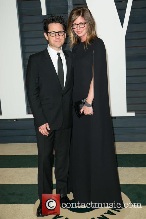 J.j. Abrams and Katie Mcgrath 1
