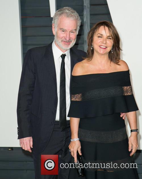 John Mcenroe and Patty Smyth 1