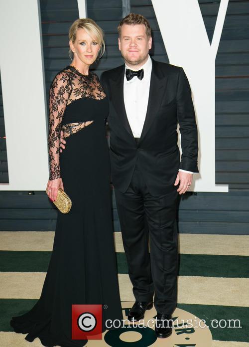 Julia Carey and James Corden 2