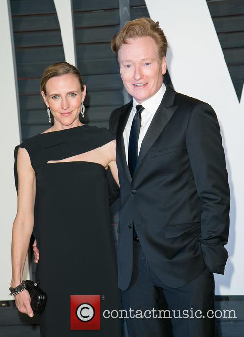 Liza Powel and Conan O'brien 3